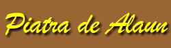 PIATRA DE ALAUN